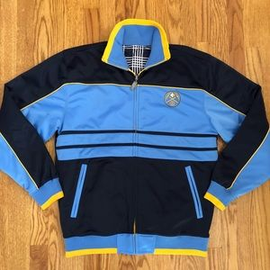 Men's Denver nuggets NBA reversible track jacket